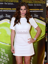 Imogen Thomas attends Super Juice Me! UK film premiere of documentary about author, motivational speaker and lifestyle coachJason Vale,  at Odeon West End, London, United Kingdom. Saturday, 26th April 2014. Picture by Nils Jorgensen / i-Images