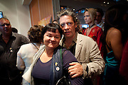 DALIA FLETCHER; DEXTER FLETCHER, ÒSAFFRON TUESDAYÓ UK PREMIERE OF BURMA VJ <br />  BAFTA, Piccadilly, LONDON. 14 July 2009<br /> DALIA FLETCHER; DEXTER FLETCHER, ?SAFFRON TUESDAY? UK PREMIERE OF BURMA VJ <br />  BAFTA, Piccadilly, LONDON. 14 July 2009