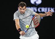 GRIGOR DIMITROV (BUL)<br /> <br /> Australian Open 2017 -  Melbourne  Park - Melbourne - Victoria - Australia  - 27/01/2017.