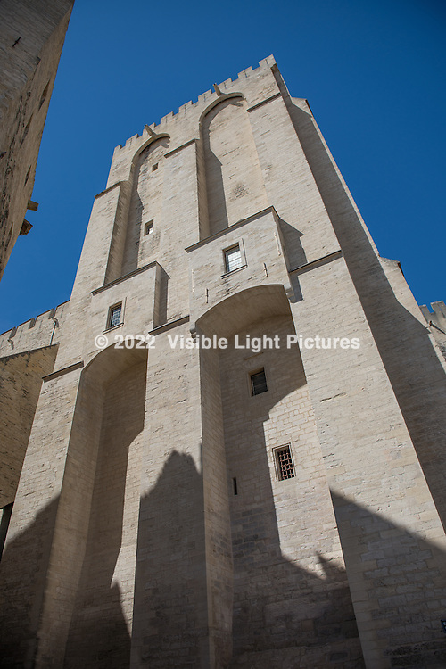 Pope's Palace in Avignon.