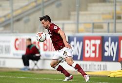 David Buchanan of Northampton Town - Mandatory byline: Robbie Stephenson/JMP - 07966 386802 - 10/10/2015 - FOOTBALL - Sixfields Stadium - Northampton, England - Northampton Town v Hartlepool - Sky Bet League Two
