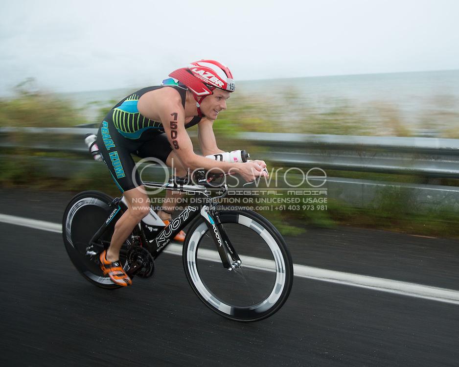 Alex Reithmeier (AUS), June 8, 2014 - TRIATHLON : Ironman Cairns 70.3 / Cairns Airport Adventure Festival, Palm Cove - Captain Cook Highway - Cairns Esplanade, Cairns, Queensland, Australia. Credit: Lucas Wroe