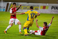 Matija Sirok during football match between NK Domzale and NK Aluminij in 8th Round of Prva liga Telekom Slovenije 2016/17, on September 9, 2016 in Sportni Park, Domzale, Slovenia. Photo by Ziga Zupan / Sportida