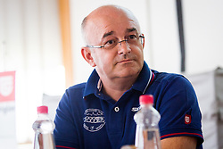 Zvonko Zavrl, president of organization board during press conference for 48. Grand prix of Kranj, on July 27, 2016 in Kranj, Slovenia. Photo by Ziga Zupan / Sportida