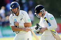 Dunedin-Cricket, New Zealand v West Indies, 1st test, day 1