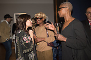 NATHALIE IMBRUGLIA, JUNE LAWRENCE, SANDRAE LAWRENCE, The George Michael Collection drinks.  Christie's, King St. London, 12 March 2019