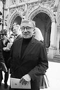 JASPER CONRAN, Service of thanksgiving for  Lord Snowdon, St. Margaret's Westminster. London. 7 April 2017JASPER CONRAN,