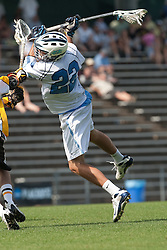 09 May 2009: North Carolina Tar Heels midfielder Cryder DiPietro (22) during a 15-13 win over the University of Maryland - Baltimore County Retrievers on Fetzer Field in Chapel Hill, NC.