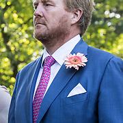 NLD/Den Haag/20190822 - Uitvaart Prinses Christina, Koning Willem Alexander met bbaardje
