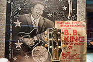 Indianola, Mississippi, February, 2009. The BB King Museum. Indianola is home of the Delta blues tradition that started in the cotton field and the Juke joints by the black sharecroppers. Photo by Frits Meyst/Adventure4ever.com