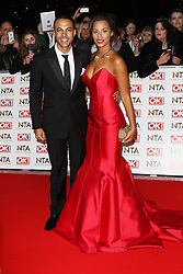 © Licensed to London News Pictures. 21/01/2015, UK. Marvin Humes, Rochelle Humes, National Television Awards, The O2, London UK, 21 January 2015. Photo credit : Richard Goldschmidt/Piqtured/LNP