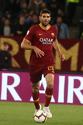 May 12, 2019 - Rome, Lazio, Italy - Roma, Lazio, Italy, 12-05-19, Italian football match between As Roma - Juventus at the Olimpico Stadium in picture Federico Fazio defender of As Roma  , the final score is 0-2 for As Roma  (Credit Image: © Antonio Balasco/Pacific Press via ZUMA Wire)