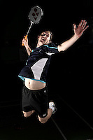 Andy Ellis England Badminton, World Championship Photoshoot, NBC, Milton Keynes, England.