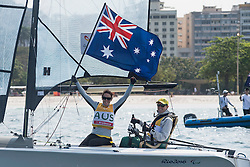 FITZGIBBON Daniel, TESCH Liesl, AUS, 2-Person Keelboat, SKUD18, Sailing, Voile à Rio 2016 Paralympic Games, Brazil