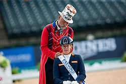 Den Dulk Nicole, NED, Wallace NOP<br /> World Equestrian Games - Tryon 2018<br /> © Hippo Foto - Sharon Vandeput<br /> 18/09/2018