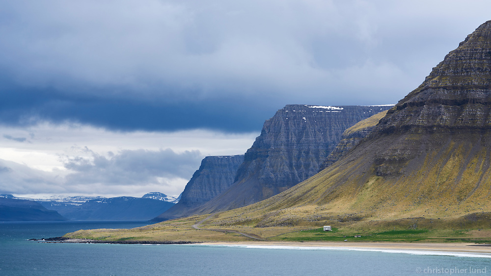 Hóll in Bakkadalur valley, Arnarfjörður, West fiords of Iceland.