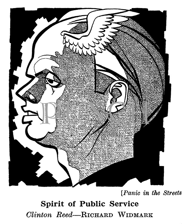 Panic in the Streets ; Richard Widmark
