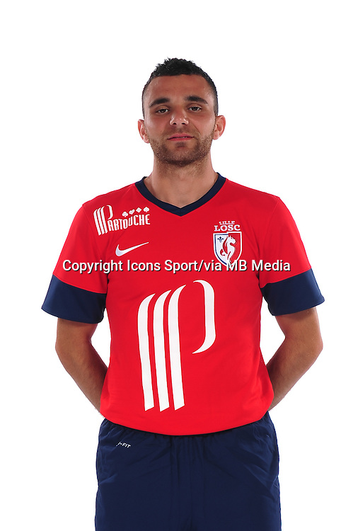 Marvin MARTIN - 10.09.2013 - Photo officielle - Lille - Ligue 1 <br /> Photo :  Icon Sport
