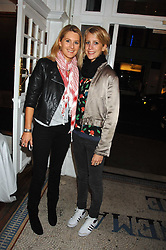 Left to right, sisters LADY KINVARA BALFOUR and LADY CANDIDA BALFOUR at the Grand Classics screening of the film 'Don't Look Now' sponsored by Motorola held at The Electric Cinema, 181 Portobello Road, London W11 on 24th September 2007. <br /><br />NON EXCLUSIVE - WORLD RIGHTS