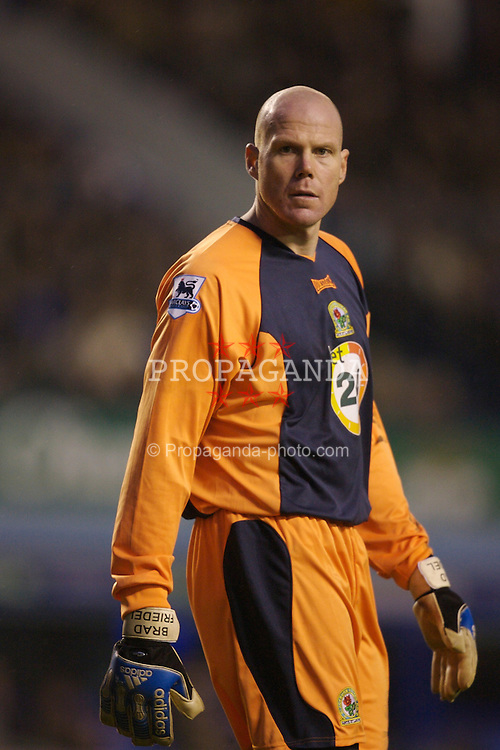 Liverpool, England - Sunday, January 7, 2007:  Blackburn Rovers' goalkeeper Brad Friedel during the FA Cup 3rd Round match at Goodison Park. (Pic by David Rawcliffe/Propaganda)