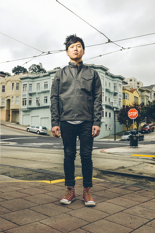 Portrait of Rex Honda. San Francisco, CA