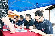 Christian Burns<br /> Raduno Nazionale Maschile Senior<br /> Raduno Giorno 6<br /> Firma Autografi<br /> Folgaria 27/07/2017<br /> Foto Ciamillo-Castoria/ A.Gilardi