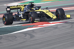 February 28, 2019 - Spain - Nicolas Hülkenberg (Renault F1 Team) RF19 car, seen in action during the winter testing days at the Circuit de Catalunya in Montmelo  (Credit Image: © Fernando Pidal/SOPA Images via ZUMA Wire)