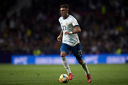 March 22, 2019 - Madrid, Madrid, Spain - Matias Suarez (River) of Argentina controls the ball during the international friendly match between Argentina and Venezuela at Wanda Metropolitano Stadium in Madrid, Spain on March 22 2019. (Credit Image: © Jose Breton/NurPhoto via ZUMA Press)