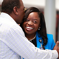 Dr. Goffney Meet and Greet at Carver HS