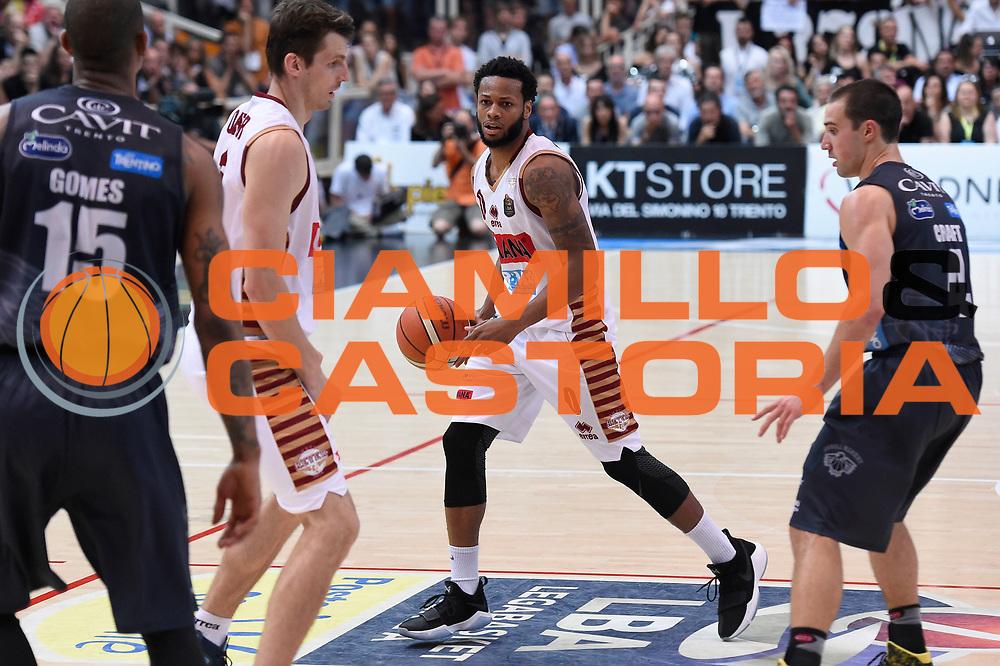 MarQuez Haynes<br /> Dolomiti Energia Aquila Basket Trento - Umana Reyer Venezia<br /> Lega Basket Serie A 2016/2017<br /> Playoff, finale gara 3<br /> Trento, 14/06/2017<br /> Foto M.Ceretti / Ciamillo-Castoria