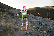 08/11/2014 repro free Participants on Croagh Patrick who took part in the Sea 2 Summit adventure race in Westport Co. Mayo. Photo:Andrew Downes