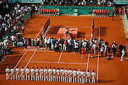 Roland Garros. Paris, France. June 10th 2007..Men's Final..Rafael NADAL won against Roger FEDERER.