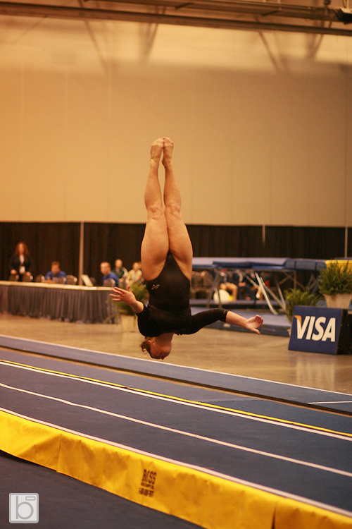 USA Gymnastic Visa Championships at the Reliant Center in Houston, Texas.  (Photo/Todd Bissonette)