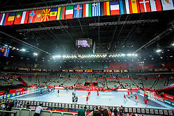 Arena Zagreb during handball match between National teams of Germany and Montenegro on Day 2 in Preliminary Round of Men's EHF EURO 2018, on January 13, 2018 in Arena Zagreb, Zagreb, Croatia. Photo by Ziga Zupan / Sportida