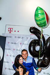 BALDWIN PARK, CA - JULY 23: Regional Mexican singer and Latin Grammy nominee Dasahev 'El Dasa' Lopez met with his fans to pose and sign autographs at the T-Mobile store in Baldwin Park, California USA. 2015 July 23. Fans brought cakes, cookies, balloons and other gifts for an early El Dasa 26th birthday celebration. Byline, credit, TV usage, web usage or linkback must read SILVEXPHOTO.COM. Failure to byline correctly will incur double the agreed fee. Tel: +1 714 504 6870.