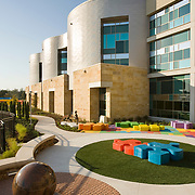 Karlsberger - Dell Children's Hospital Phase Two<br /> Dell Children's Medical Center, Austin Texas<br /> The Dell Children's Hospital was completed in July of 2007 but the landscape and fine-tuning on some of the interiors wasn't completed until June 2008. TBG Partners in Austin designed the surrounding landscape and interior courtyards. The hospital was designed by Karlsberger Planning, Architecture & Design, Columbus Ohio. San Diego Architectural Photographer, Southern California Architectural Photographer