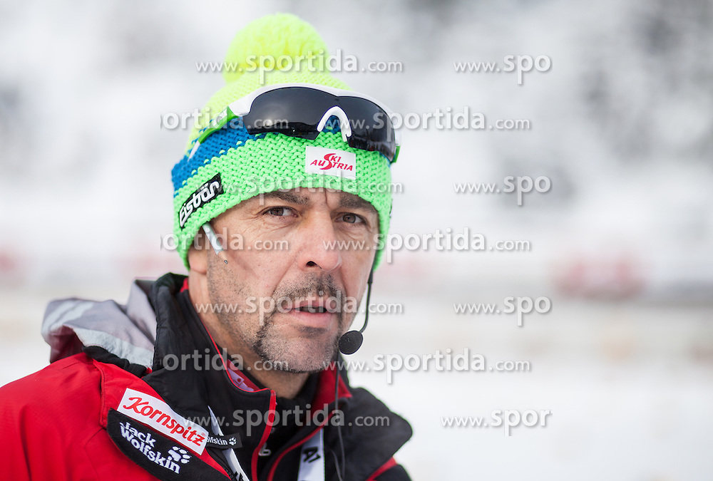 07.12.2012, Biathlonarena, Hochfilzen, AUT, E.ON IBU Weltcup, Sprint, Herren, im Bild Remo Krug (Cheftrainer Biathlon, OeSV) // during Mens sprint of E.ON IBU Biathlon World Cup at the Biathlonstadium in Hochfilzen, Austria on 2012/12/07. EXPA Pictures © 2012, PhotoCredit: .EXPA/ Juergen Feichter