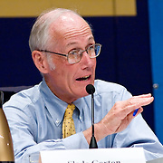 "Slade Gorton. Panel: Military Response on 9/11. The 9/11 Commission's 12th public hearing on ""The 9/11 Plot"" and ""National Crisis Management"" was held June 16-17, 2004, in Washington, DC."