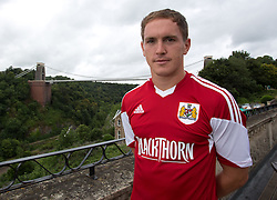 Neil Kilkenny of Bristol City - Photo mandatory by-line: Kieran McManus/JMP - Tel: Mobile: 07966 386802 31/07/2013 - SPORT - FOOTBALL - Avon Gorge Hotel - Clifton Suspension bridge - Bristol -  Team Photo