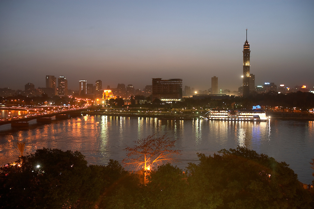 Cairo and the Nile River, Egypt