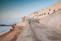 Rampa di accesso alla spiaggia della purità, Gallipoli (LE)