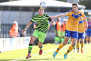 Forest Green Rovers Matty Stevens(9) runs forward during the EFL Sky Bet League 2 match between Forest Green Rovers and Mansfield Town at the New Lawn, Forest Green, United Kingdom on 19 October 2019.