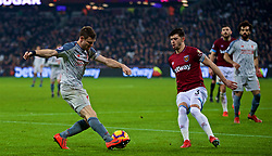 LONDON, ENGLAND - Monday, February 4, 2019: Liverpool's captain James Milner during the FA Premier League match between West Ham United FC and Liverpool FC at the London Stadium. (Pic by David Rawcliffe/Propaganda)