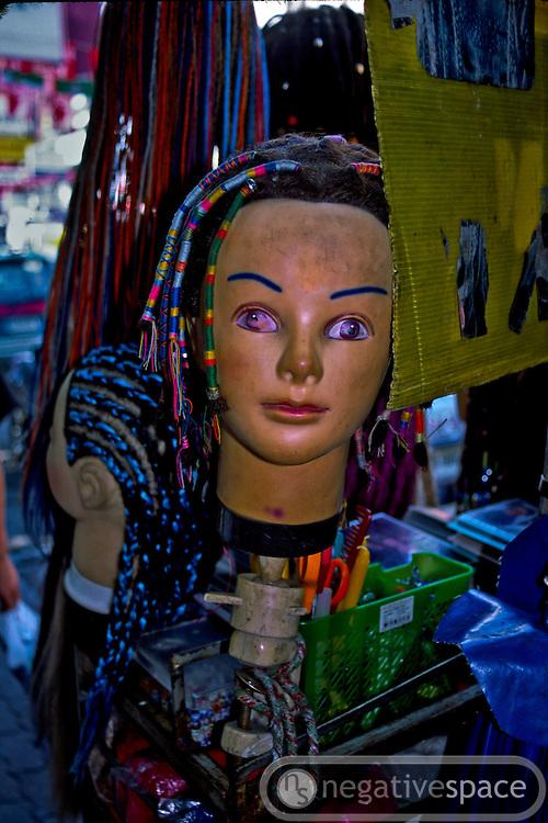 Shopping on Khaosarn Road, Bangkok, Thailand