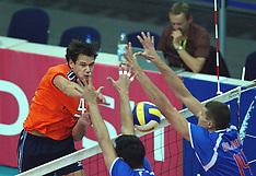 20030905 DUI: EK Volleybal Nederland - Servie Montenegro: Leipzig