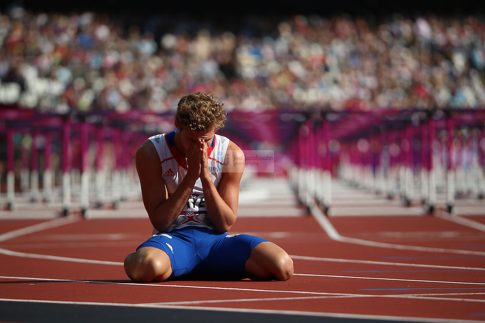 during track and field at the Olympic Stadium during day 13 of the London Olympic Games in London, England, United Kingdom on August 9, 2012..(Jed Jacobsohn/for The New York Times)..