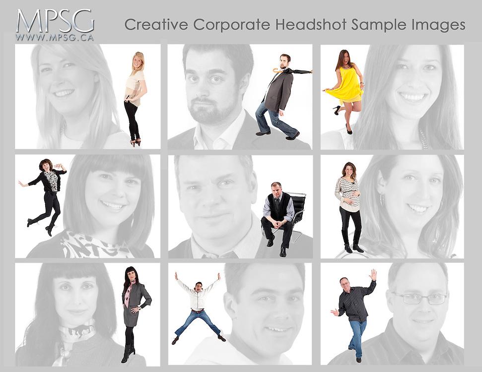 Creative Business Headshots
