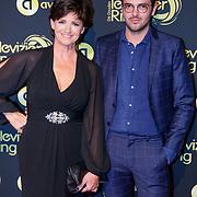 NLD/Amsterdam/20181011 - Televizier Gala 2018, Martine van Os en zoon Julian