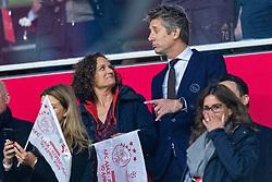 10-04-2019 NED: Champions League AFC Ajax - Juventus,  Amsterdam<br /> Round of 8, 1st leg / Ajax plays the first match 1-1 against Juventus during the UEFA Champions League first leg quarter-final football match / Edwin van der Sar