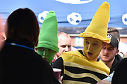 Aston Villa Fans before the EFL Sky Bet Championship match between Blackburn Rovers and Aston Villa at Ewood Park, Blackburn, England on 29 April 2017. Photo by Mark Pollitt.